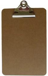 Klembord LPC A5 staand met 75mm klem hout MDf
