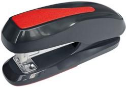 Nietmachine Plus Office 24-26/6 zwart/rood