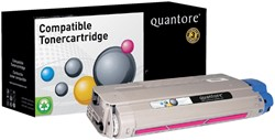 Tonercartridge Quantore Oki 44318606 rood