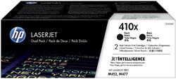 Tonercartridge HP CF410XD 410X zwart 2x HC