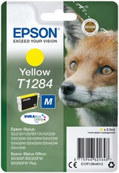 Inktcartridge Epson T1284 geel