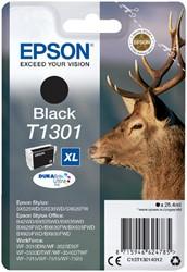 Inktcartridge Epson T1301 zwart HC