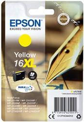 Inktcartridge Epson 16XL T1634 geel HC