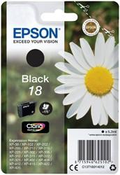 Inktcartridge Epson 18 T1801 zwart