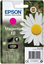 Inktcartridge Epson  18 T1803 rood