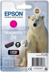 Inktcartridge Epson 26 T2613 rood