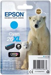 Inktcartridge Epson 26XL T2632 blauw HC