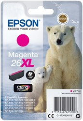 Inktcartridge Epson 26XL T2633 rood HC