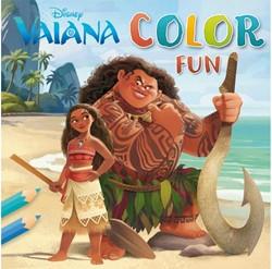 Kleurboek Disney Vaiana color fun
