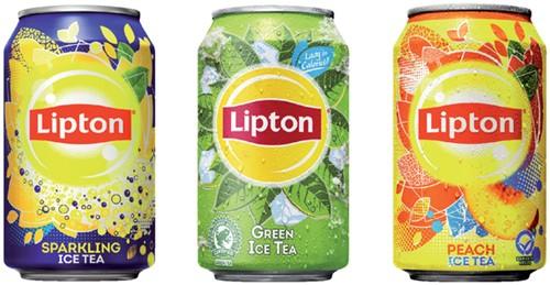 Frisdrank Lipton Ice Tea Green blikje 0.33l-2