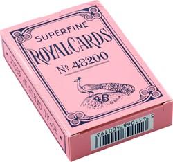 Speelkaarten hondjeskaarten geplastificeerd blauw of roze