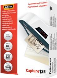 Lamineerhoes Fellowes 65x95mm 2x125micron 100stuks