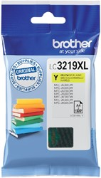Inktcartridge Brother LC-3219XLY geel HC