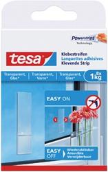 Dubbelzijdige powerstrip Tesa transparant 1kg