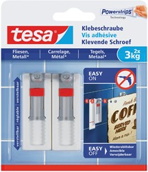 Klevende schroef Tesa tegels en metaal verstelbaar 3kg