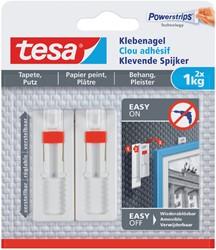 Klevende spijker Tesa behang en pleisterwerk verstelbaar 1kg