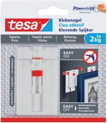 Klevende spijker Tesa behang en pleisterwerk verstelbaar 2kg