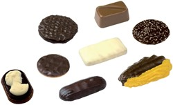 Koekjes Elite Chocolate Sensations 120 stuks assorti