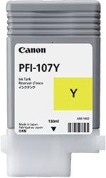 Inktcartridge Canon PFI-107 geel