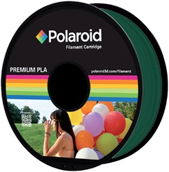 3D Filament Polaroid 1.75mm PLA 1kg donkergroen