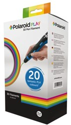 Navulling 3D pen Polaroid play filament 1.75mm PLA assorti