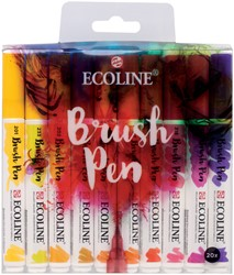 Brushpen Talens Art Creation Ecolline assorti etui à 20stuks