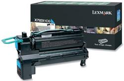Tonercartridge Lexmark X792X1CG blauw