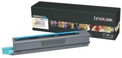 Tonercartridge Lexmark X925H2CG blauw