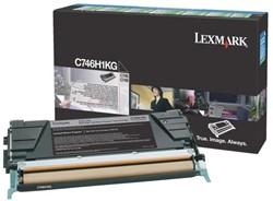 Tonercartridge Lexmark C746H3KG zwart