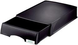 Brievenbak Leitz 5210 Plus zwart met lade