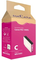 Inkcartridge Wecare Canon PGI-1500XL HC rood