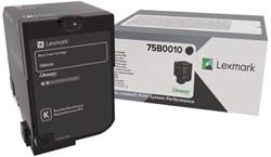 Tonercartridge Lexmark 75B0010 zwart