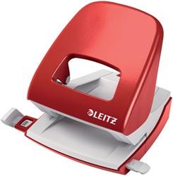 Perforator Leitz NeXXt 5008 2-gaats 30vel rood