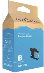 Inkcartridge Wecare Brother LC-223 blauw
