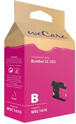 Inkcartridge Wecare Brother LC-223 rood