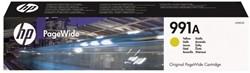 Inkcartridge HP 991A M0J82AE geel