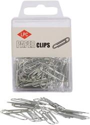 Paperclip LPC 30mm rond 100stuks zilver