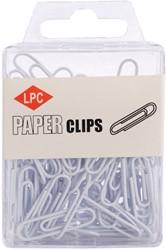 Paperclip LPC 28mm 100stuks wit