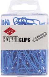 Paperclip LPC 28mm 100stuks blauw