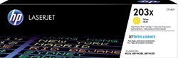 Tonercartridge HP CF542X 203X geel HC