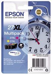 Inkcartridge Epson 27XL T2715  3 kleuren HC