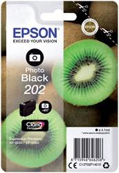 Inktcartridge Epson 202 T02F14 foto zwart
