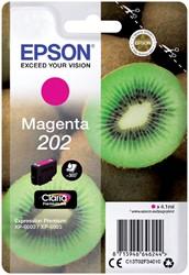 Inktcartridge Epson 202 T02F34 rood