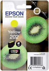 Inktcartridge Epson 202 T02F44 geel