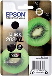 Inktcartridge Epson 202XL T02G14 zwart HC