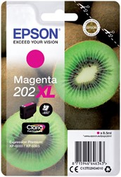Inktcartridge Epson 202XL T02H34 rood HC