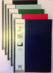 Plakboek Papyrus 330x230mm 40vel assorti