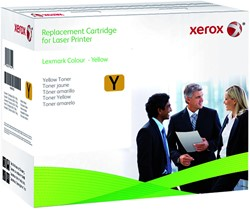 Tonercartridge Xerox 006R03526 Lexmark C540H2YG geel