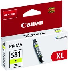 Inkcartridge Canon CLI-581XL geel HC