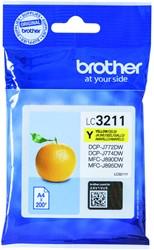 Inktcartridge Brother LC-3211 geel